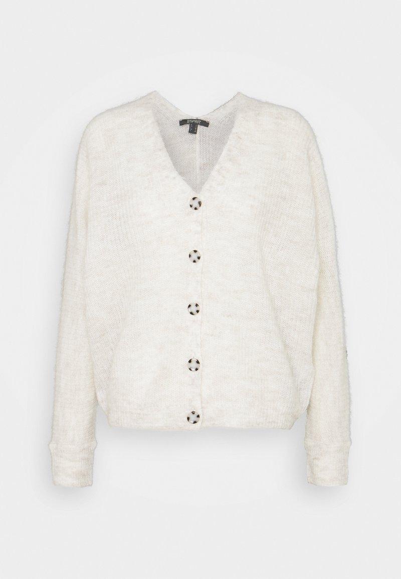 Esprit Collection - V NECK CARDIGAN - Cardigan - ice