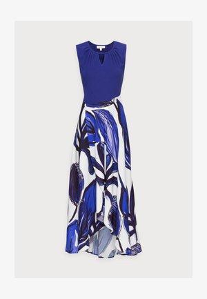 NATALIA WRAP DRESS - Vestido largo - azure blue