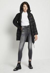 G-Star - KAFEY STUDS ULTRA HIGH SKINNY  - Jeans Skinny Fit - vintage basalt - 2