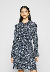 Samsøe Samsøe - MONIQUE DRESS - Košilové šaty - blue - 0