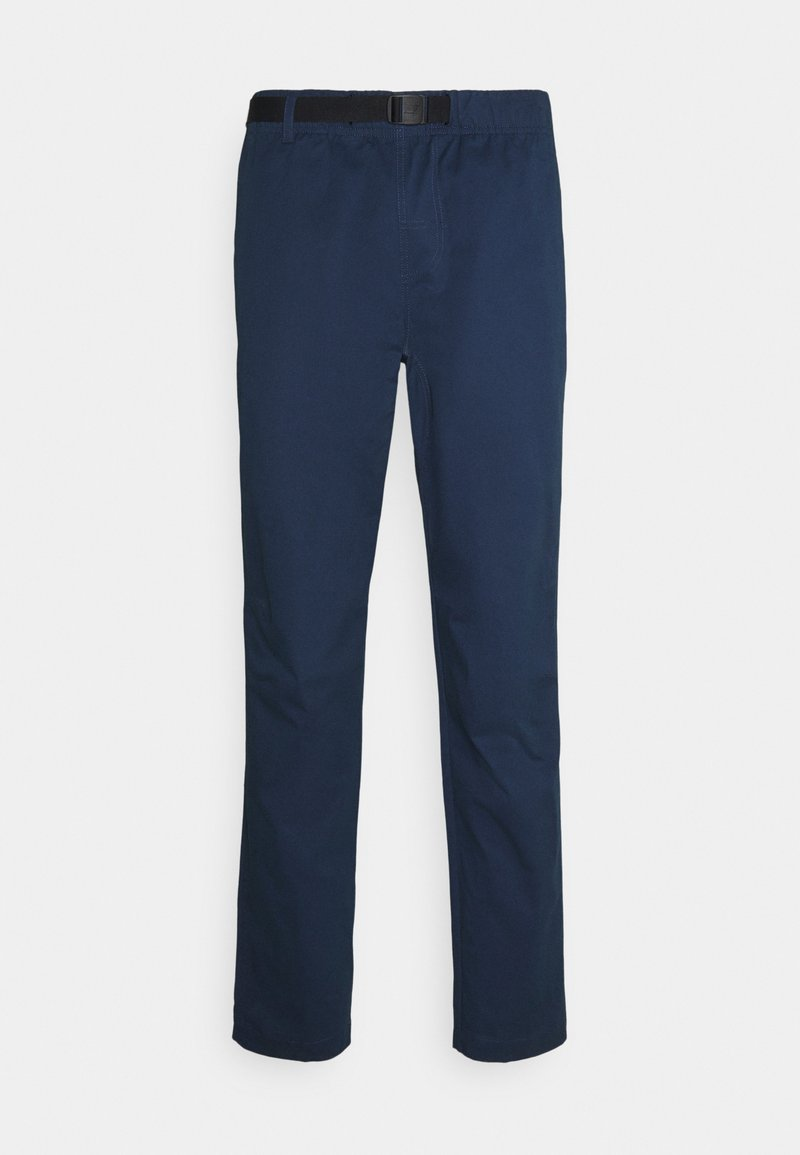New Balance - ATHLETICS PANT - Trousers - dark blue