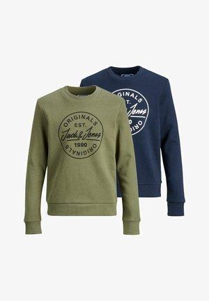 2 PIECE PACK ROUND NECK - Sweater - navy blazer