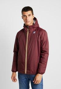 K-Way - UNISEX CLAUDE ORESETTO - Light jacket - red amaranto - 0
