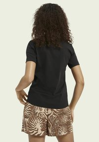 Scotch & Soda - Print T-shirt - black - 2