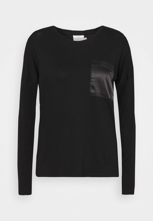 RUTH - Long sleeved top - black deep