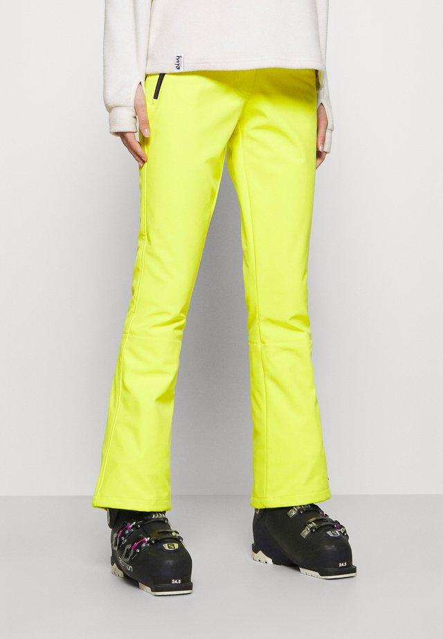 JILIA - Snow pants - gelb