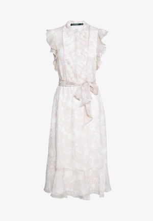 CRINKLE DRESS - Košilové šaty - mascarpone cream