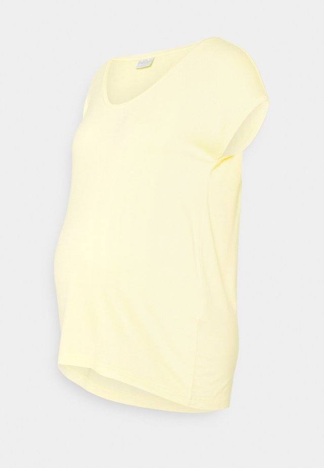 PCMBILLO TEE SOLID - Basic T-shirt - yellow
