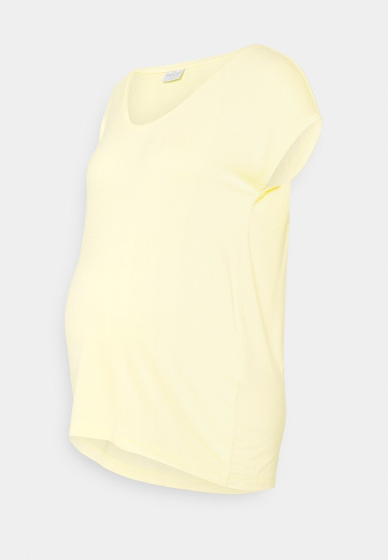Pieces Maternity - PCMBILLO TEE SOLID - Basic T-shirt - yellow