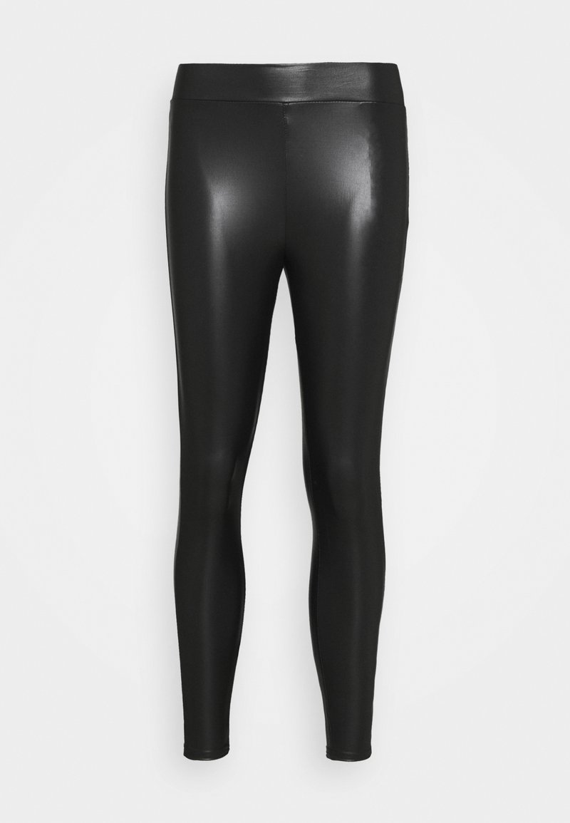 ONLY Petite - ONLCOOL COATED - Leggings - black