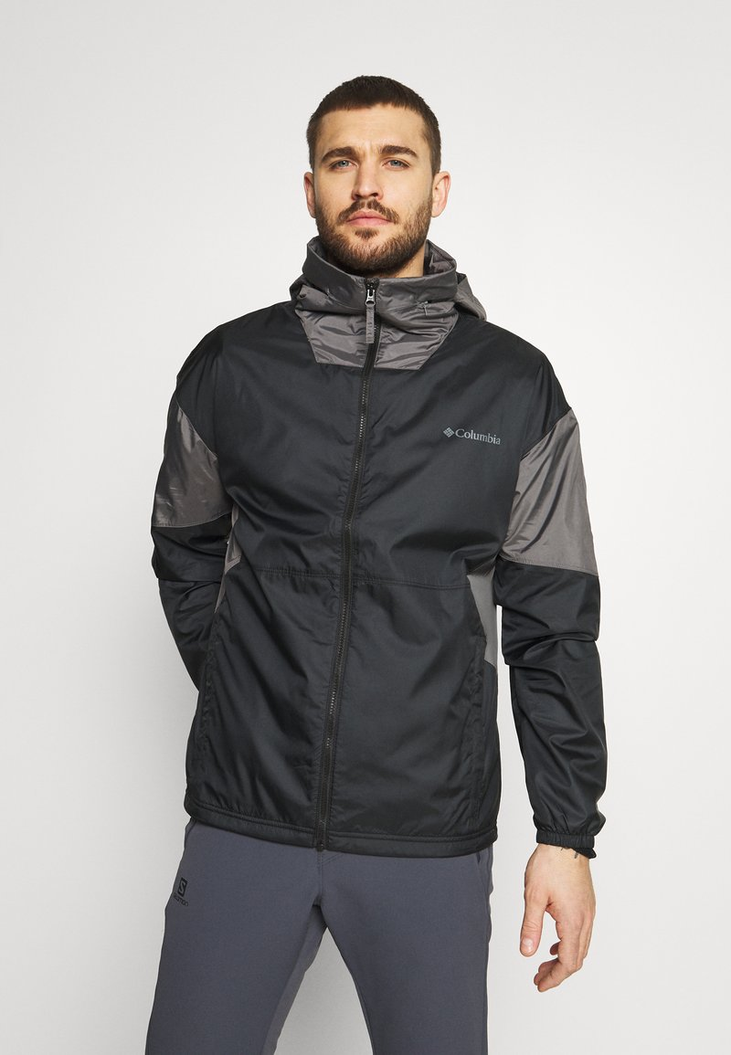 Columbia - POINT PARK™ LINED - Outdoor jacket - black/city grey