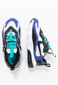 Nike Sportswear - AIR MAX 270 RT - Sneaker low - white/black/hyper blue/oracle aqua - 0