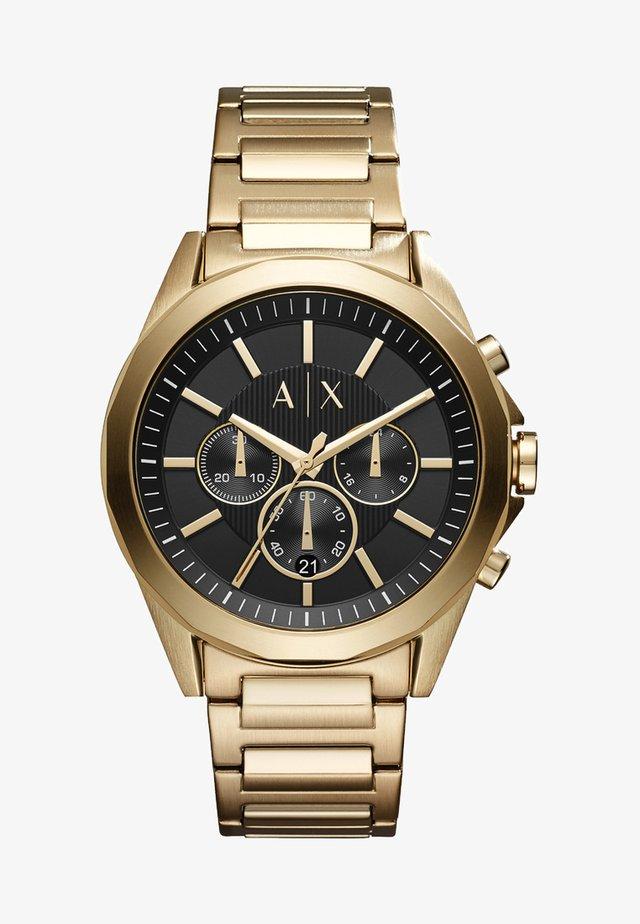 Horloge - goldfarben
