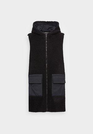 WEJANA - Waistcoat - black