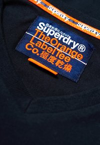 Superdry - VINTAGE  - Basic T-shirt - dunkel marineblau - 5