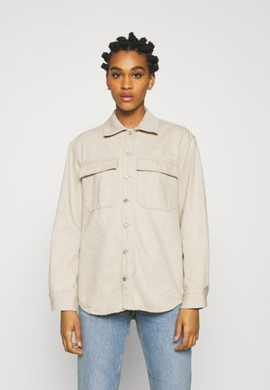 CABRILLO - Button-down blouse - beige