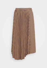 Gestuz - BELLIS SKIRT - Pleated skirt - brown - 4