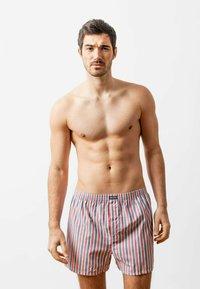 SNOCKS - WOVEN - 3 PACK - Boxer shorts - stripe - 2