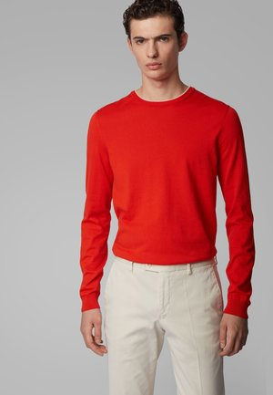 FABELLO - Strickpullover - orange