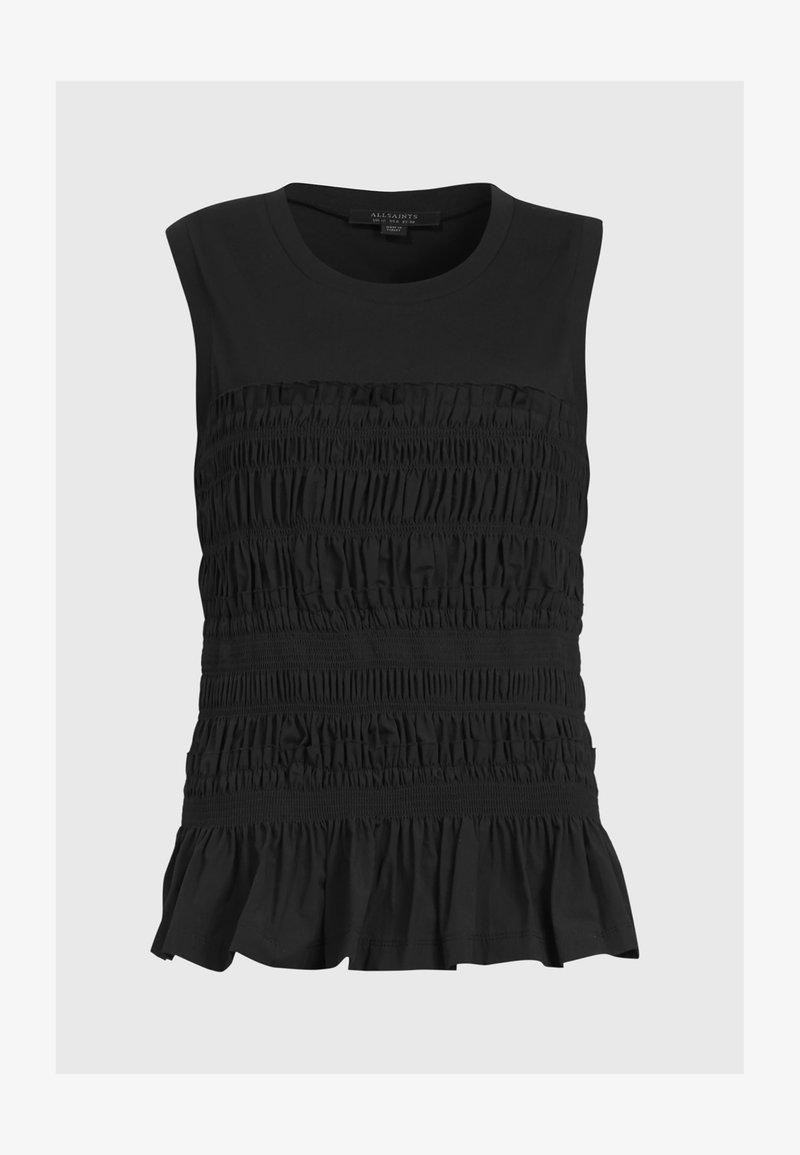 AllSaints - ASHLEIGH CAMI - Top - black