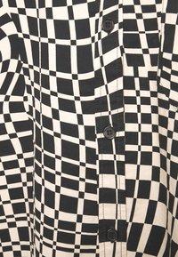 Monki - Button-down blouse - black - 6