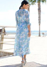 Alba Moda - Maxi dress - blau/off-white - 4