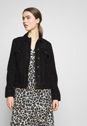 PHILIPPA JACKET - Leather jacket - black