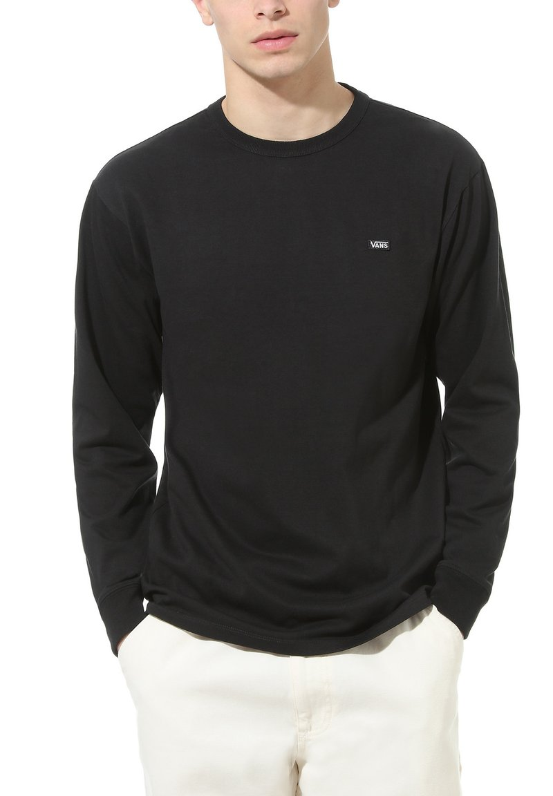 Vans - MN OFF THE WALL CLASSIC LS - Long sleeved top - black
