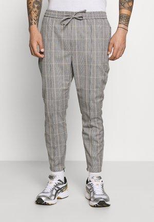 SILVIO SMART JOGGERS - Pantalones - grey/gold