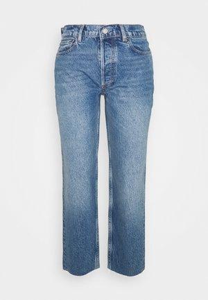 TOMMY HIGH RISE  - Straight leg jeans - dark blue
