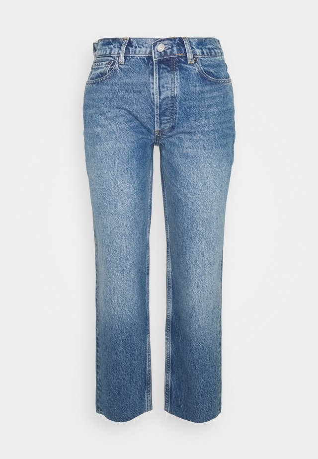 TOMMY HIGH RISE  - Jeans a sigaretta - dark blue