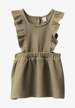 Gebreide jurk - khaki