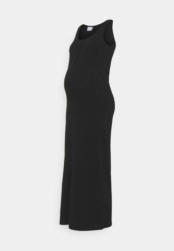 MLSIA LIA TANK DRESS - Maxi dress - black