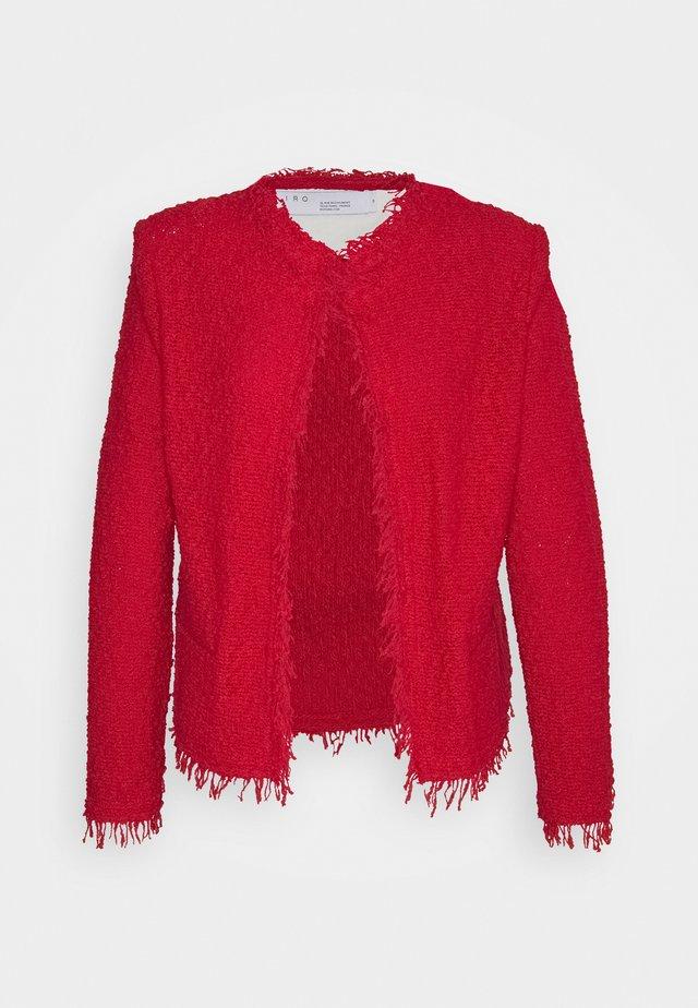 SHAVANI - Cardigan - red