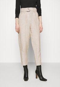 Marks & Spencer London - Trousers - beige - 0