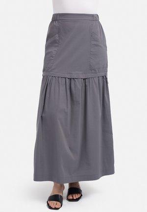 Maxi skirt - dunkel grau