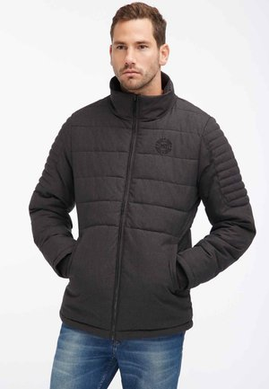 ANORAK - Winter jacket - black melange