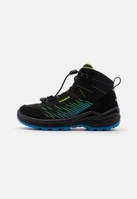 Lowa - ZIRROX GTX MID JUNIOR UNISEX - Hiking shoes - schwarz/limone - 0