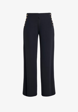 MATTE PANT - Trousers - navy