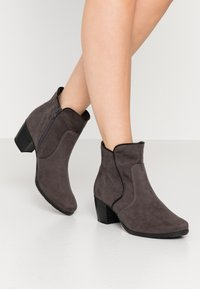 Jana - Classic ankle boots - graphite - 0