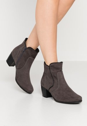Bottines - graphite