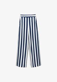 Uterqüe - Trousers - blue - 5