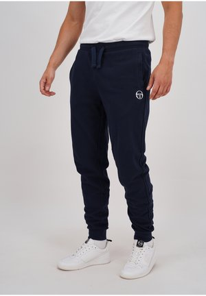 NEW ELBOW PANTS - Tracksuit bottoms - nav/wht