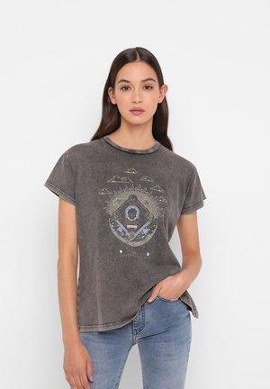 KOSMOS  - Print T-shirt - grey