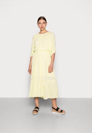 MINORA-VIENNA MIDI DRESS  - Day dress - young wheat