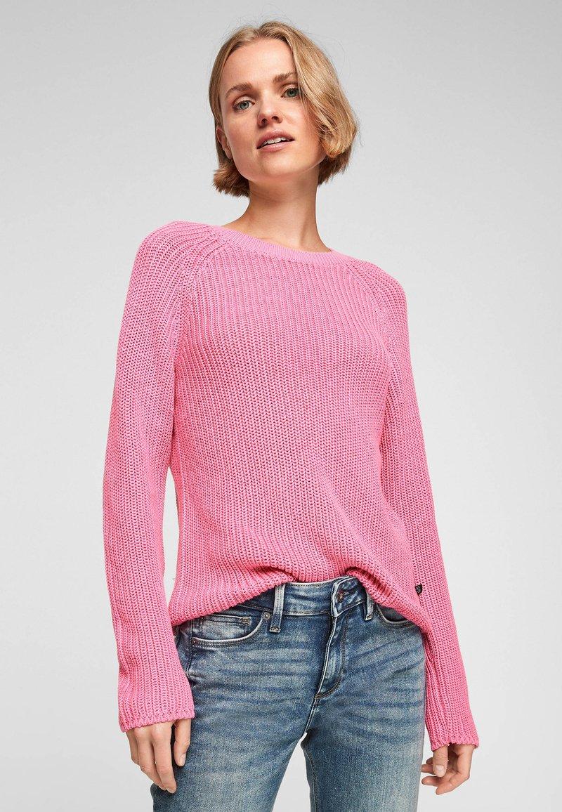 QS by s.Oliver - Jumper - pink