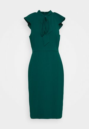 KORA DRESS - Shift dress - dark spruce
