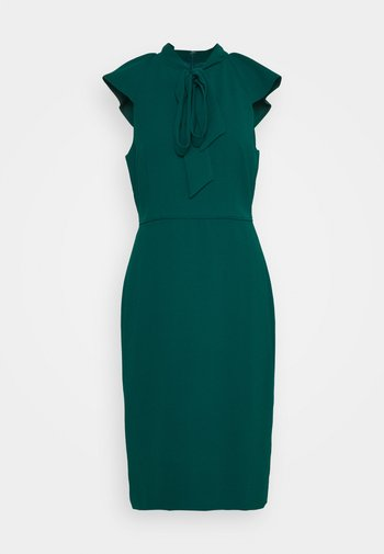 KORA DRESS - Shift dress - dark spruce