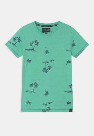 RUTHER  - Print T-shirt - aqua