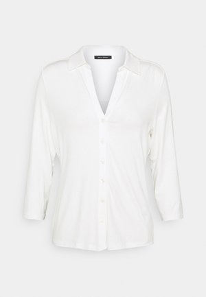 CLASSIC - Button-down blouse - paper white
